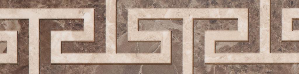 Albano brown border 02 300х75
