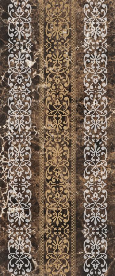 Drava brown decor 01 250х600