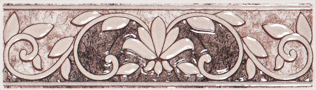 Volturno brown border 01 200х57